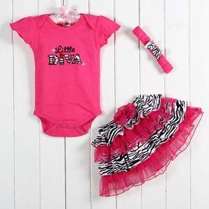 Pink Diva - Romper+Tutu skirt