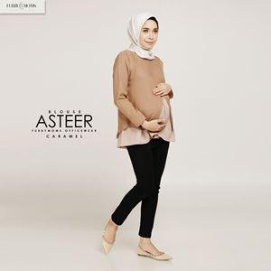 Asteer Blouse - Caramel