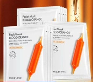 Images Blood Orange Moisturizing Hydrating Facial Mask