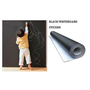 BLACK/WHITEBOARD STICKER 60*200CM N00703