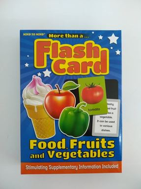 FC23 - FLASH CARD FOOD, FRUITS and VEGETABLES