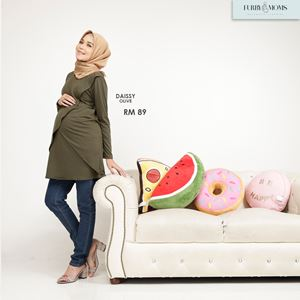 Daissy Blouse - Olive