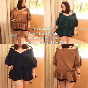 ET35  Ready Stock  *Bust 48 to 60inch/122-152cm