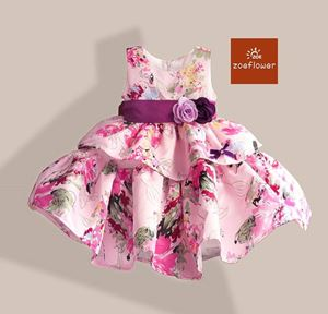 CLEARANCE STOCK FLOWER GIRL ROSE DRESS