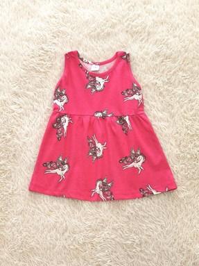 Kids Dress UNICORN PINK : (1y - 6y) TW