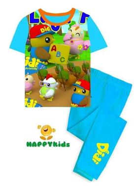 @  H-009 DID & FRIENDS LIGHT BLUE   { SIZE 2 & 6yY }