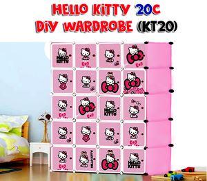 Hello Kitty 20C DIY Cube Wardrobe (KT20)