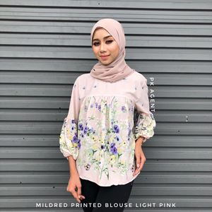 MILDRED PRINTED BLOUSE