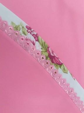 Telekung Rose Pink