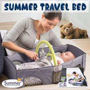 SUMMER TRAVEL BED