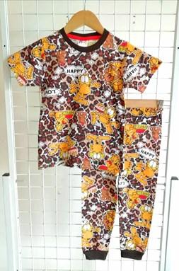 Pyjamas GARFIELD AND BEAR : BABY size 12m  (MYSHA)