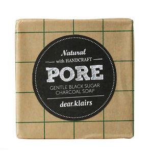 Klairs Pore Gentle Black Sugar Charcoal Soap 100g