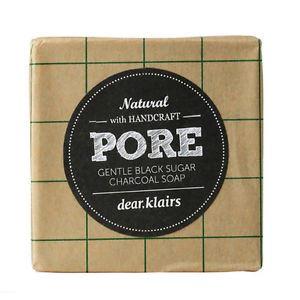 Klairs Pore Gentle Black Sugar Charcoal Soap 100g