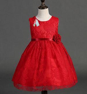 L059 RED DINNER DRESS