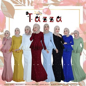 TAZZA EXCLUSIVE PEPLUM