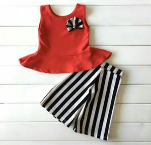 PALAZZO RED BLACK WHITE SETS