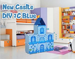 New Castle Blue 7C DIY Cube