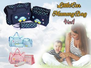 LittleCar MummyBag 4in1