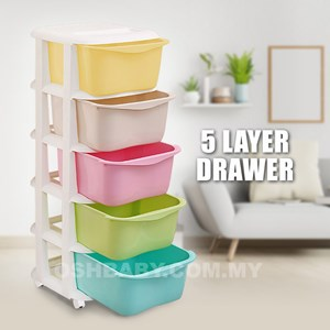 5 Layer Drawer (Ice Cream Color)