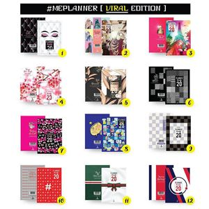 Planner/ Diary 2020 + 8 FREE GIFT : PLANNER VIRAL 2020 (  🌈🌈)