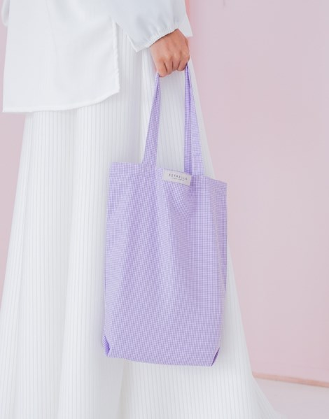 RILEY TOTE BAG IN LILAC
