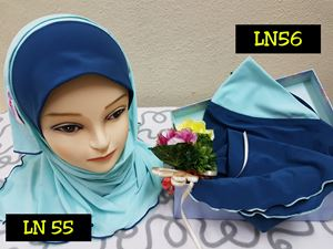 Shawl LD Plain (LN55  and LN56)
