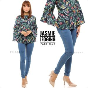 JASMIE JEGGING FADE BLUE