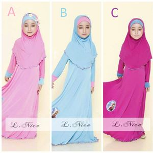 Dress Jubah Kids + Tudung - S0030-big