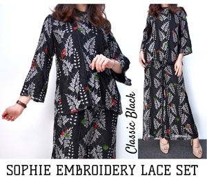 SOPHIE EMBROIDERY LACE BLOUSE