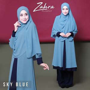 zahra suit (sky blue)