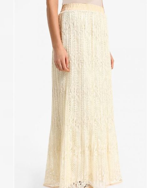 IRMA LACE SKIRTS IN CREAM