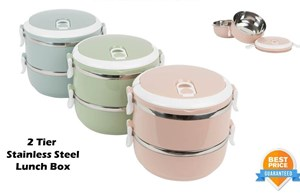 Stainless Steel Lunch Box 2 Layer
