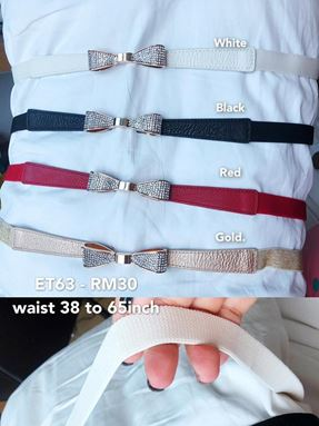 ET63 Ready stock*Waist 38 to 65inch/ 96 to 165cm