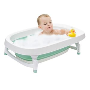 Foldable Baby Bathtub  (FREE BATHING SUPPORT)
