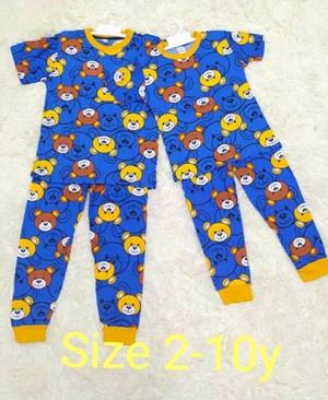 Pyjamas HLL BLUE BEAR : KIDS size 2 - 10