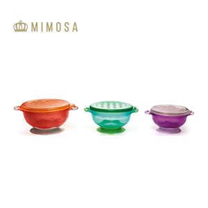 MIMOSA - Suction Bowl With Lid