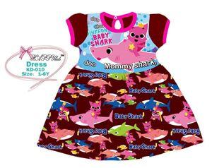 BABY SHARK CASUAL DRESS