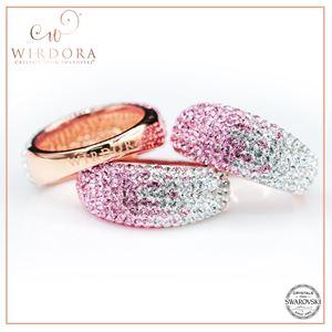 Scarf Ring Zahra Light Rose