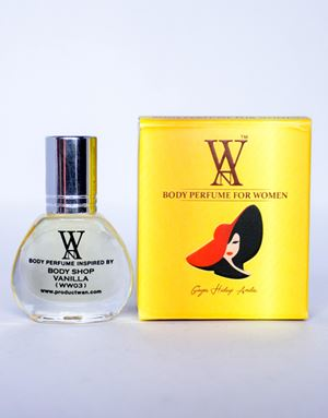 WAN BODY PERFUME - (WW03) BODY SHOP VANILLA