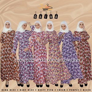 QAIRA PLEATED DRESS