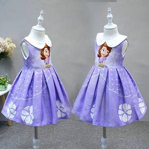 @  European Style Dress ( SZ 100-140 )