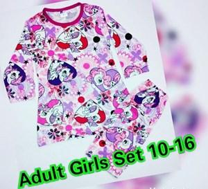 Pyjamas Viral Pony Love Kids Sz 14