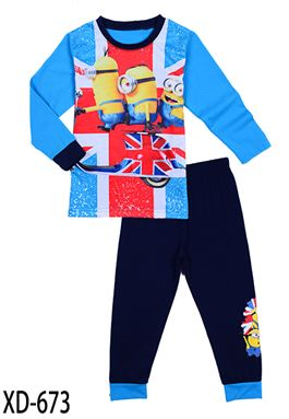 CALUBY XD-673 Kids Pyjama (2-7 tahun)