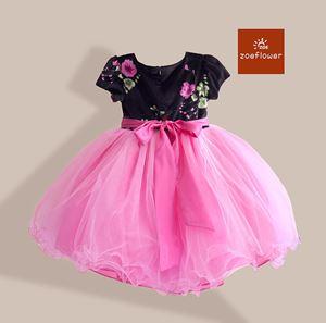 @  WS-ZF201527-010 ZOE FLOWER DRESS (sz3-8)