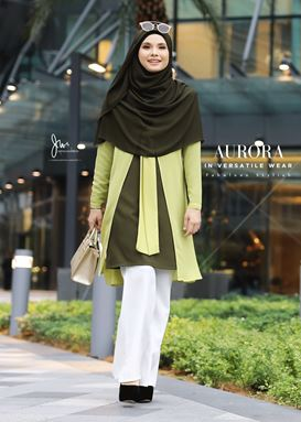 AURORA IN VERSATILE WEAR (HILL GREEN)