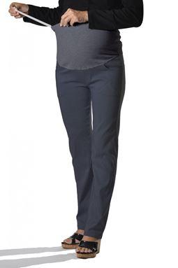 Maternity Straight Pant Mi - Iron Grey