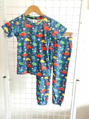 Pyjamas DINOSAURS BLUE :  Big Kids 9/10 - 15/16