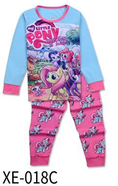 XE-018C 'My Little Pony' KIDS PYJAMAS (2T-7T)