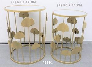 2PCS SIDE TABLE A9091