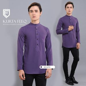KURTA FEEQ ( GRAPE )